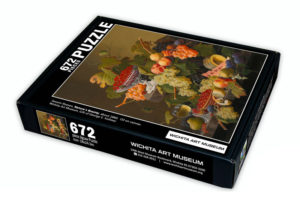 Branded Puzzle for Wichita Art Museum